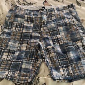 Men's madras print Bermuda shorts NWT SZ 40
